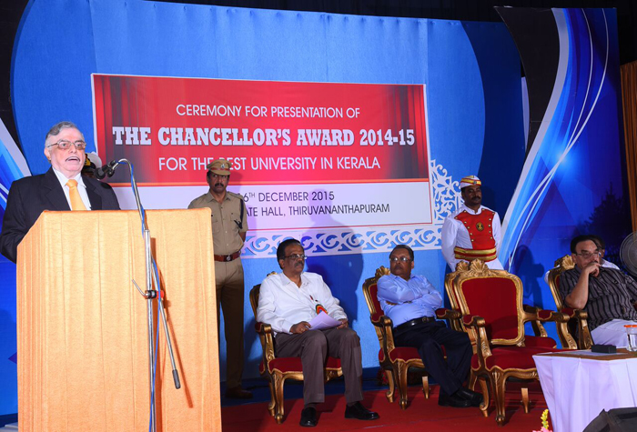Chanellors Award Ceremony - Speech By Hon. Chancellor