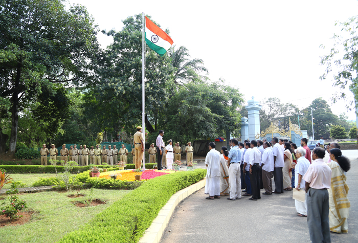 Independance Day 2015 Celebrations at Palayam Campus