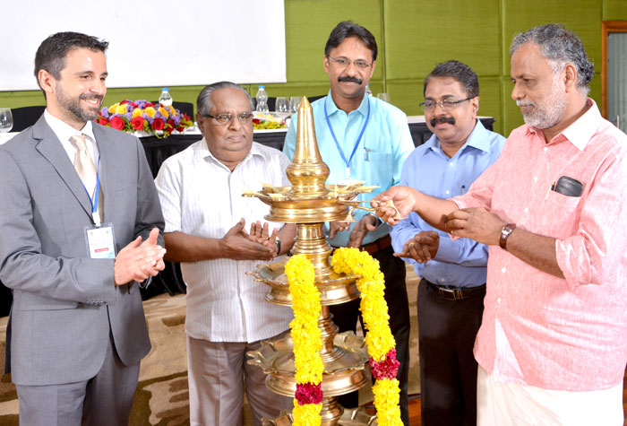 Adv. V. Rajendra Babu Hon. Mayor, Corporation of Kollam inaugurated UGC-ISF two days National workshop on Ecosystem Service Assessment for Sustainable Management of Ashtamudi & Sasthamkotta Lakes at Kollam, organized by Dept. of Environmental Sciences, UoK